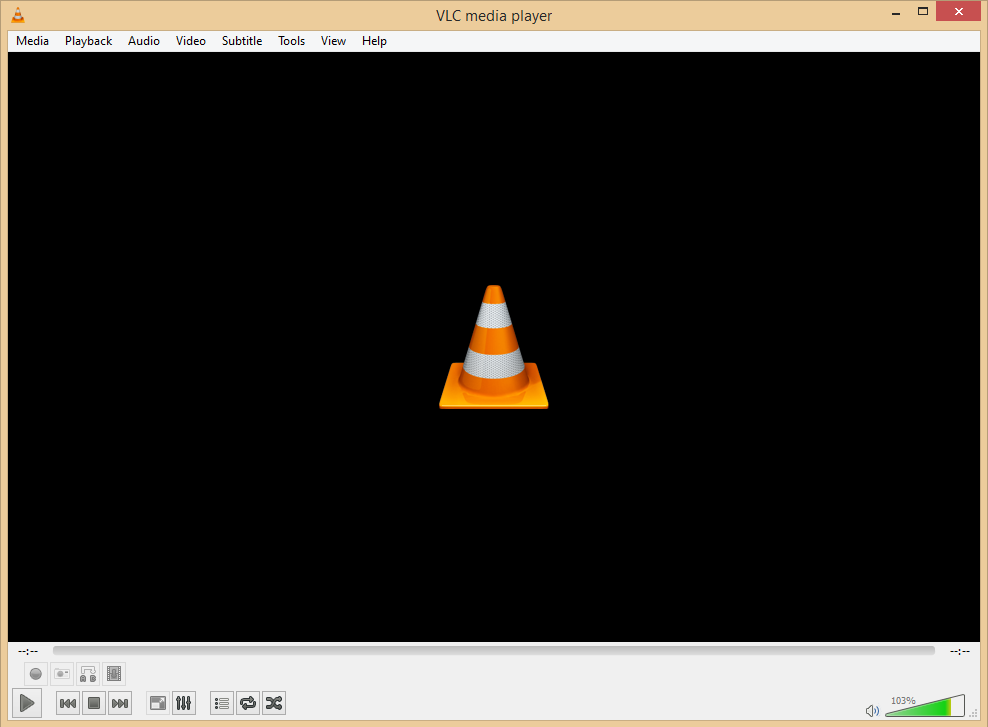 Screenshot VLC Media Player Terbaru