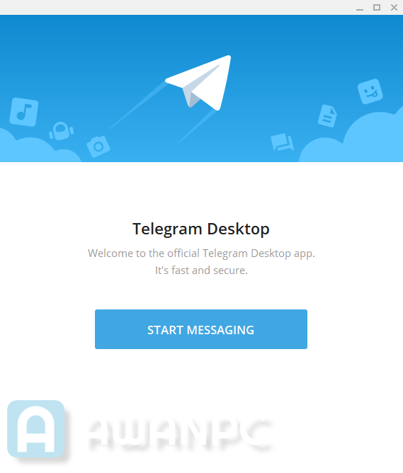 Screenshot Telegram for Dekstop Terbaru